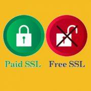 تفاوت گواهینامه ssl رایگان و پولی؟